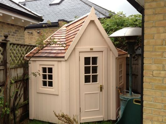 Another corner shed
