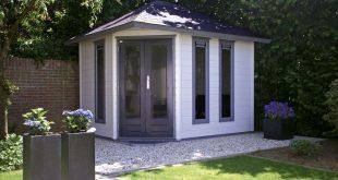 modern garden corner shed - Google Search