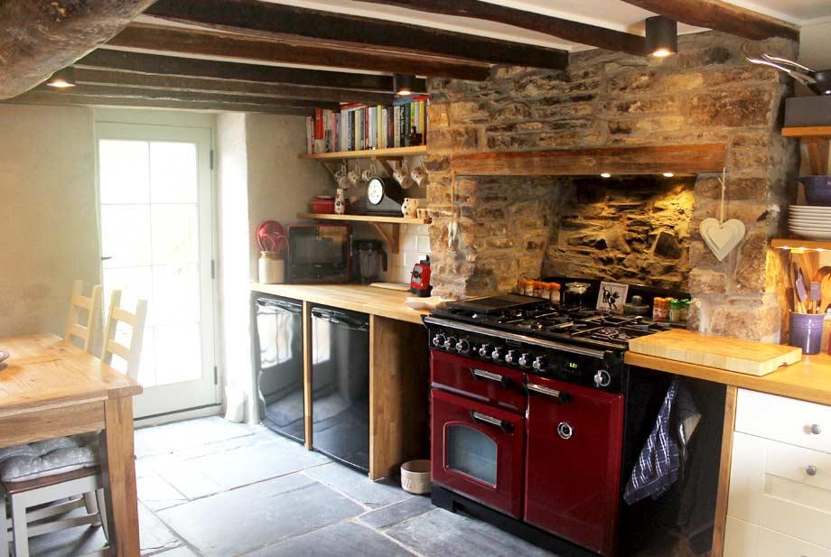 Welsh cottage kitchen