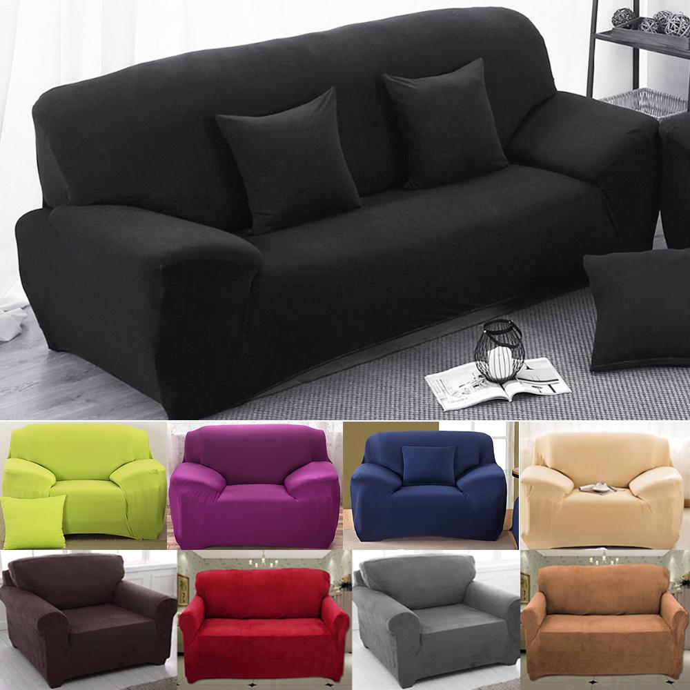 Home Sofa Covers For Living Room Modern Sofa Cover Elastic Polyester Sofa  Towel Furniture Protector Polyester Love Seat Couch Cover Couch Slip Covers