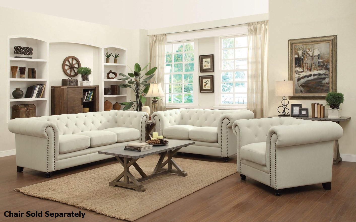 Roy Beige Fabric Sofa and Loveseat Set - Steal-A-Sofa Furniture Outlet Los  Angeles CA