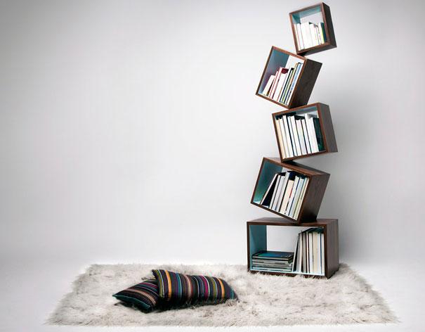 """Malagana: Equilibrium Bookcase. """""""