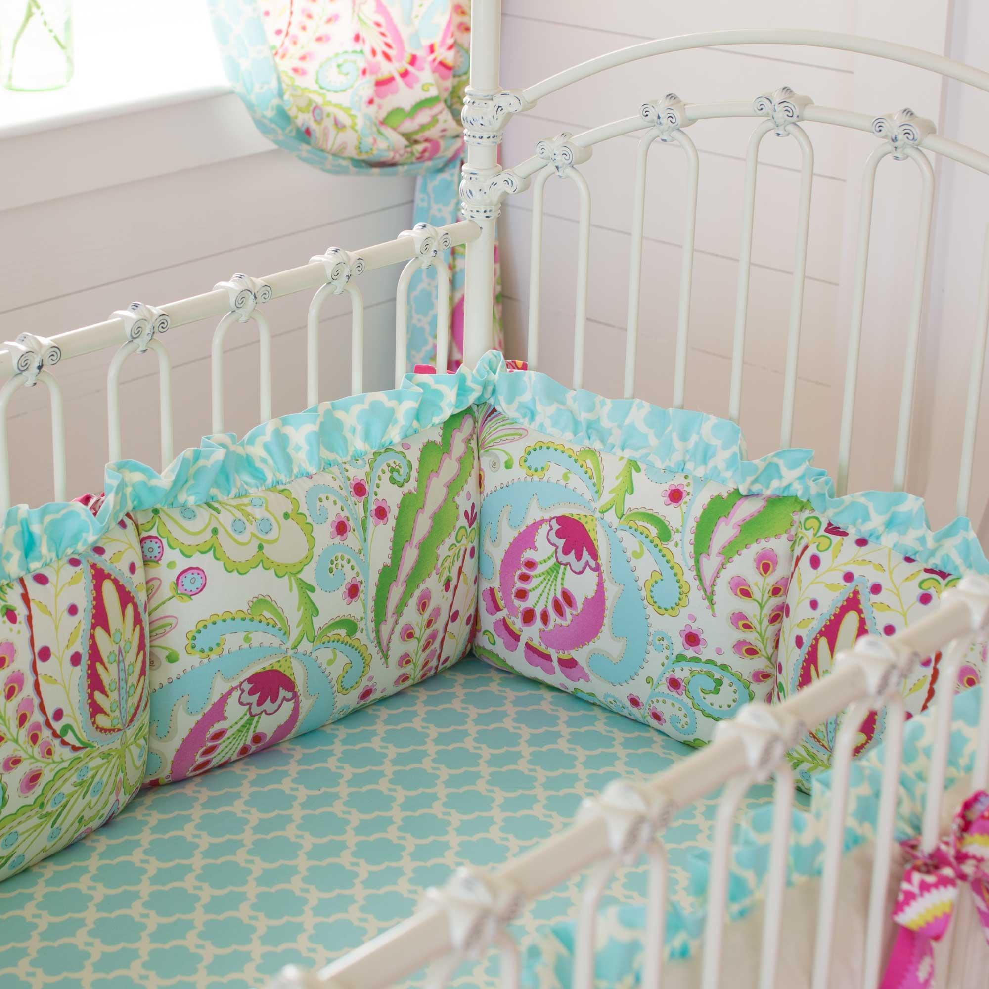 Kumari Garden Crib Bumper