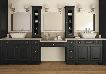 Bathroom Vanities Order Sample Doors. Save Time Ready to Install Semi-Custom  Hassle Free