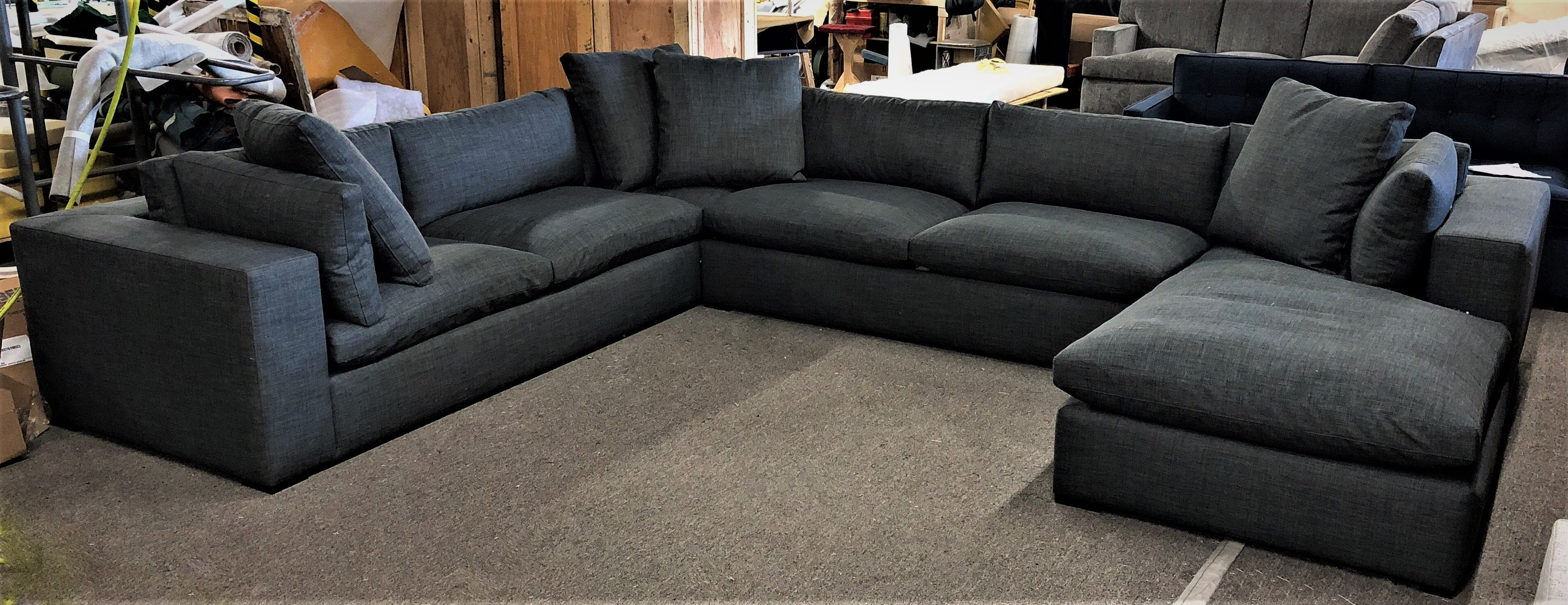 Leather or fabric. Ships Nationwide. Showrooms in Los Angeles, Orange  County, Bay Area, Portland, Dallas. Traveller Location we make the best custom  sofa and