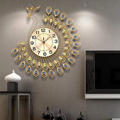 Decorative wall clocks for living room to design a house
