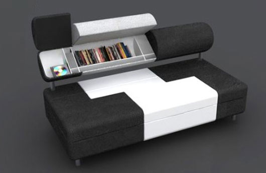 Compact Sofa Bed by Baita Design