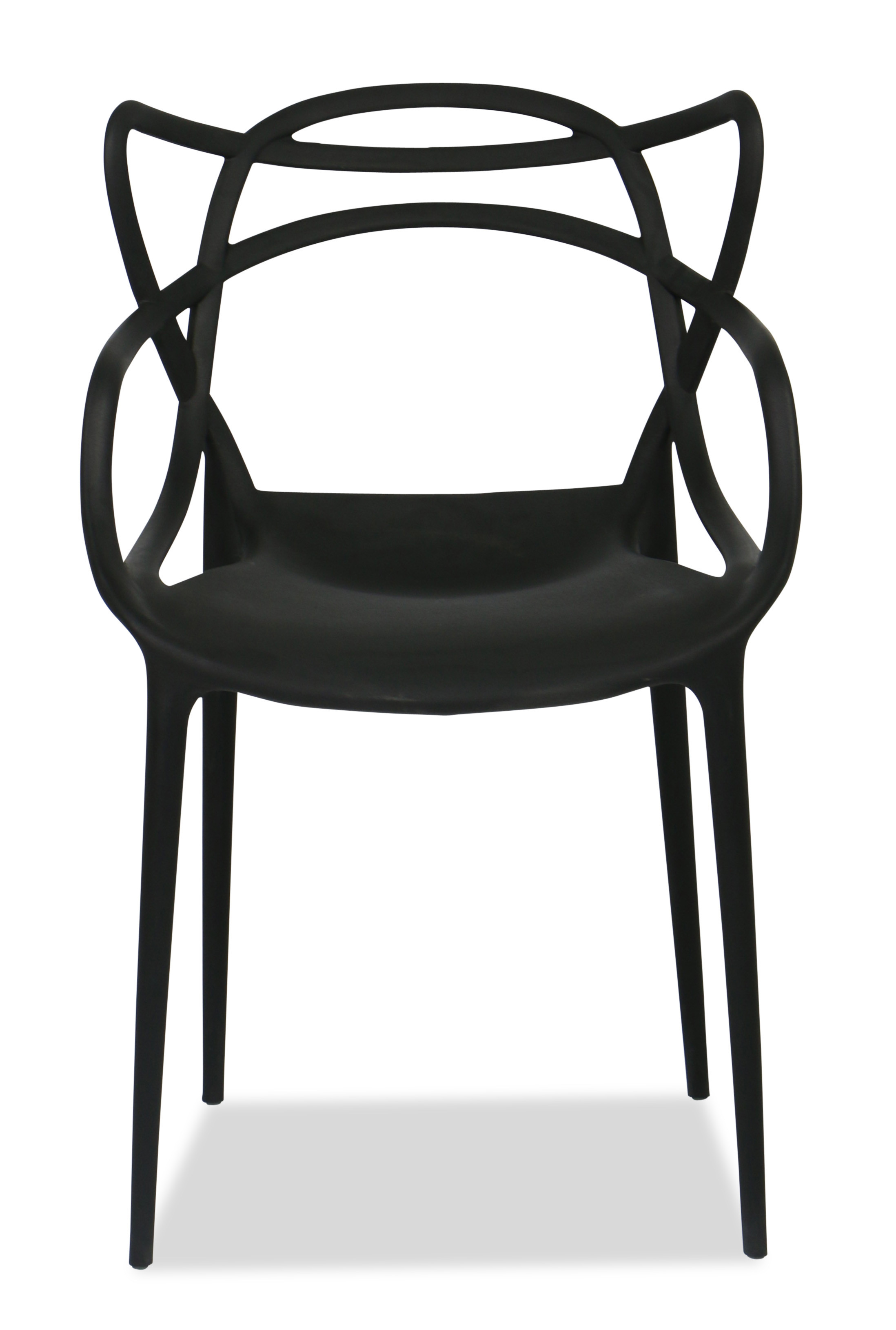 Camelia Black Designer Chair