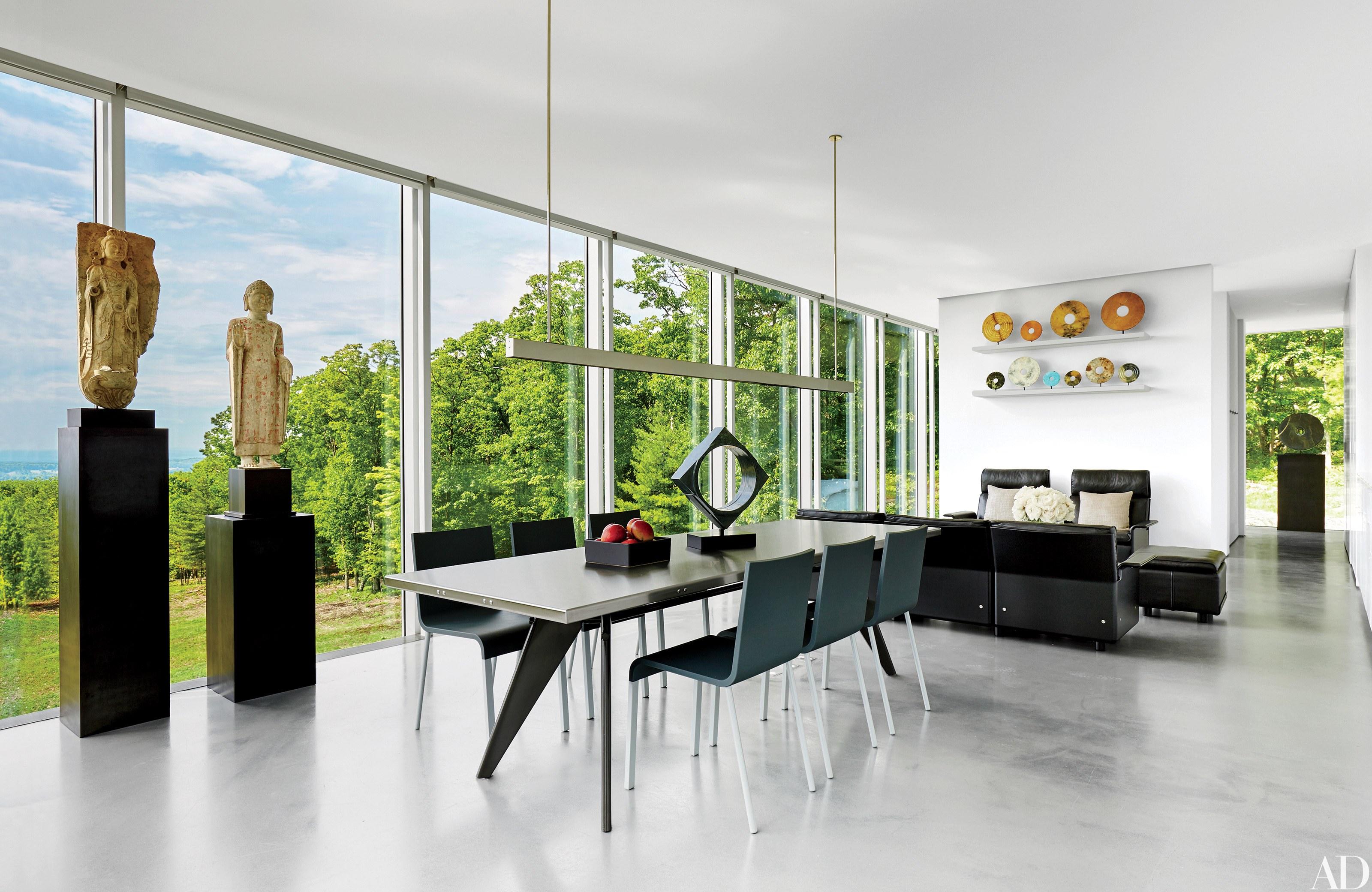 contemporary interior design 13 striking and sleek rooms rh  architecturaldigest com Architectural Charming Interior Designs  architectural