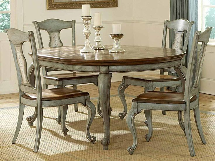 Paint a formal dining room table and chairs - Bing Images | Around the  house | Pinterest | Painted dining room table, Painted kitchen tables and Dining  room