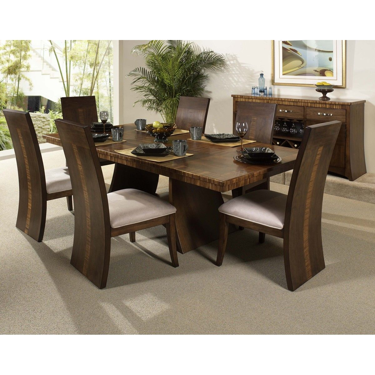 Elegant Dining Room, 7 Piece Dining Set, Kitchen Dining Sets, Dining Room  Sets