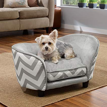 Enchanted Home Pet Snuggle Pet Sofa Bed, 26.5 by 16 by 16-Inch,