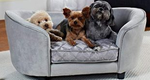 Enchanted Home Pet Quicksilver Pet Sofa Bed, 34 by 3 by 15.5-Inch,