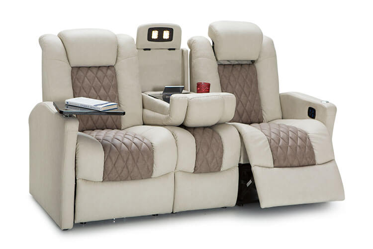 Monument RV Double Recliner Sofa