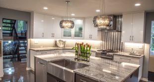 Modern home dream kitchen