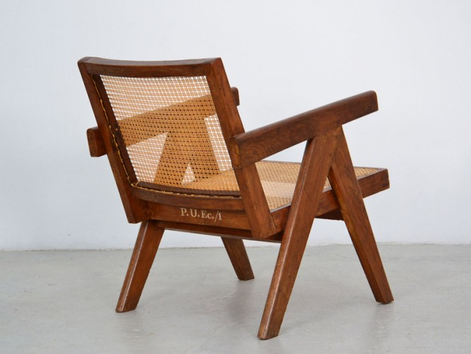 "1952_ ""easy"" armchair by Pierre Jeanneret"