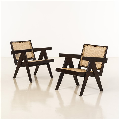 easy armchair by pierre jeanneret