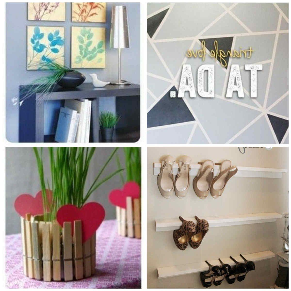 Diy Home Decor Ideas Pinterest Wwwpixsharkcom Images, Pinterest Diy  regarding Easy Craft Ideas For Home