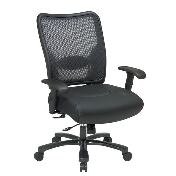 Shop Office Star Big & Tall Double AirGrid® Back Ergonomic Chair