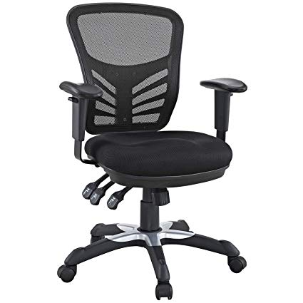 Image Unavailable. Image not available for. Color: Modway Articulate Ergonomic  Mesh Office Chair