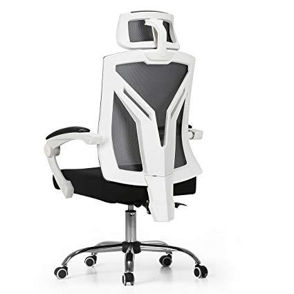 Hbada Ergonomic Office Chair - Modern High-Back Desk Chair - Reclining  Computer Chair with