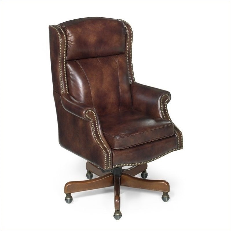 Hooker Furniture Seven Seas Executive Office Chair in Empire Byzantine -  EC216