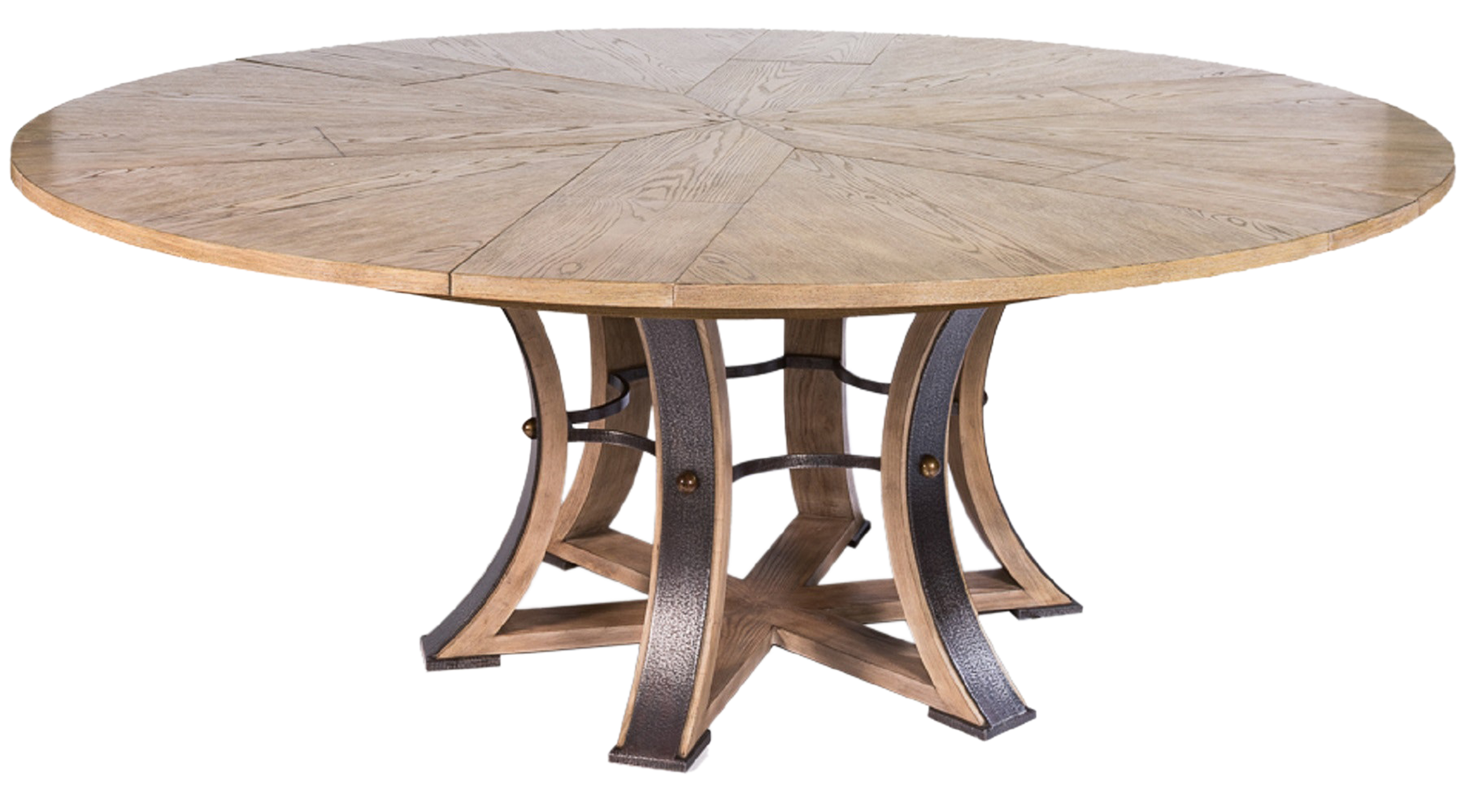 Expandable Dining Table - Transitional Organic Mid-Century Modern Dining  Room Tables - Dering Hall