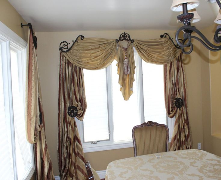 Exquisite drapery hardware from Galaxy in L.A. | Drapes ~ window treatments  | Drapery, Design, Window treatments