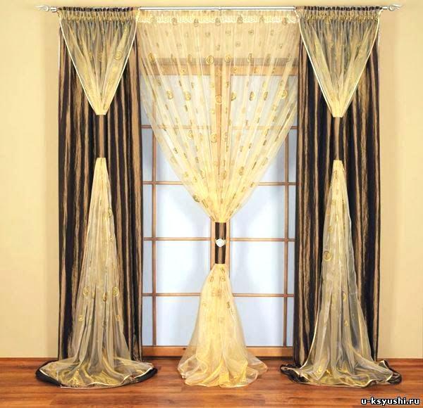 Simple Exquisite Curtain Design Sheer Curtain Ideas For Living Room - curtain  design