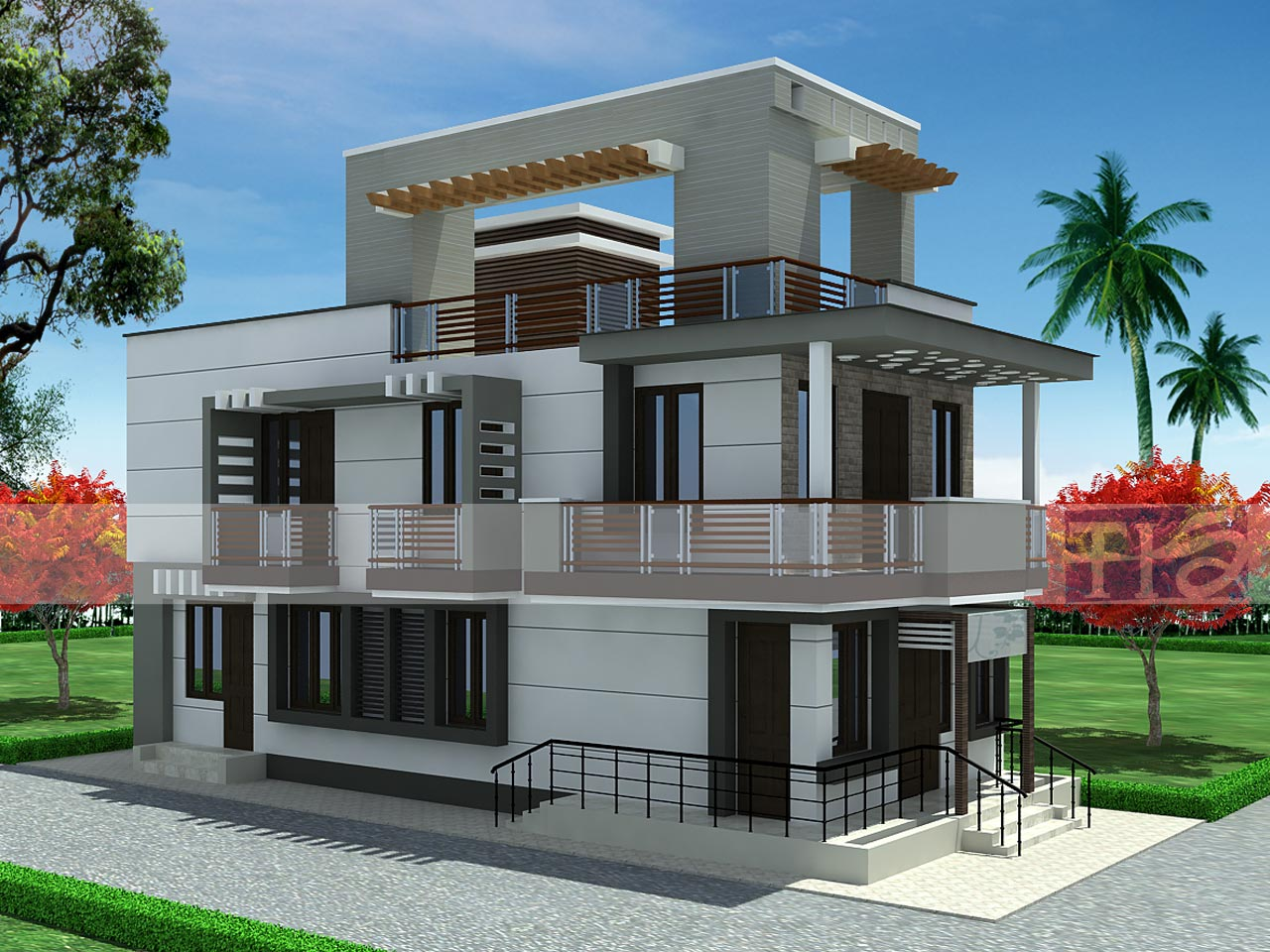 Exterior Design Endearing Inspiration Simply Simple