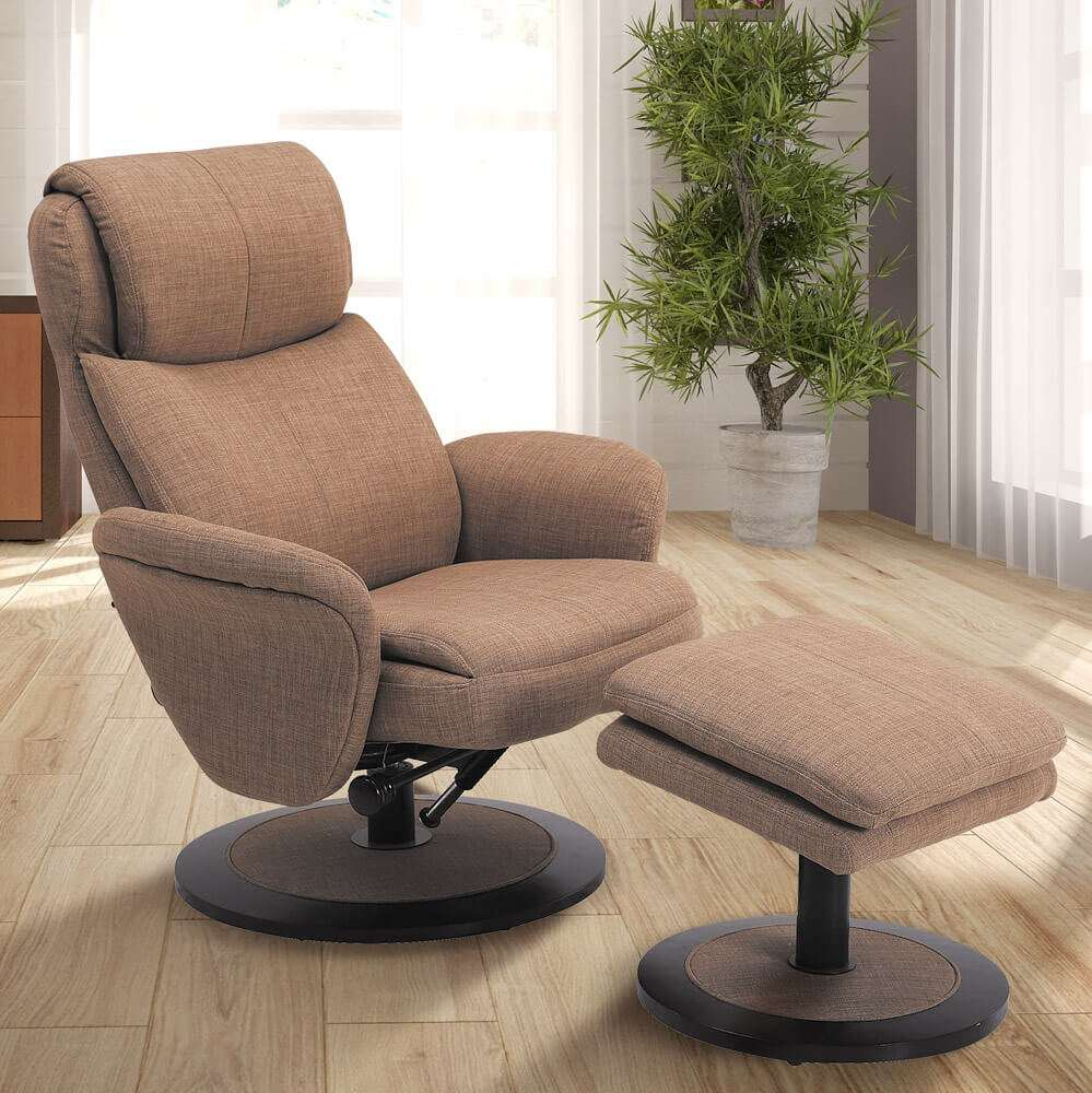 Contemporary recliners fabric recliners