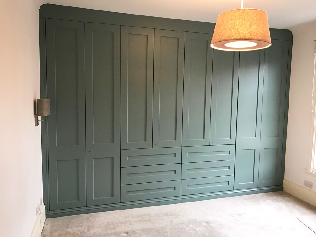 Green Fitted Wardrobe