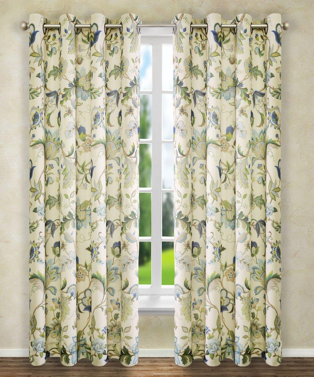 Brissac Floral Curtain Collection