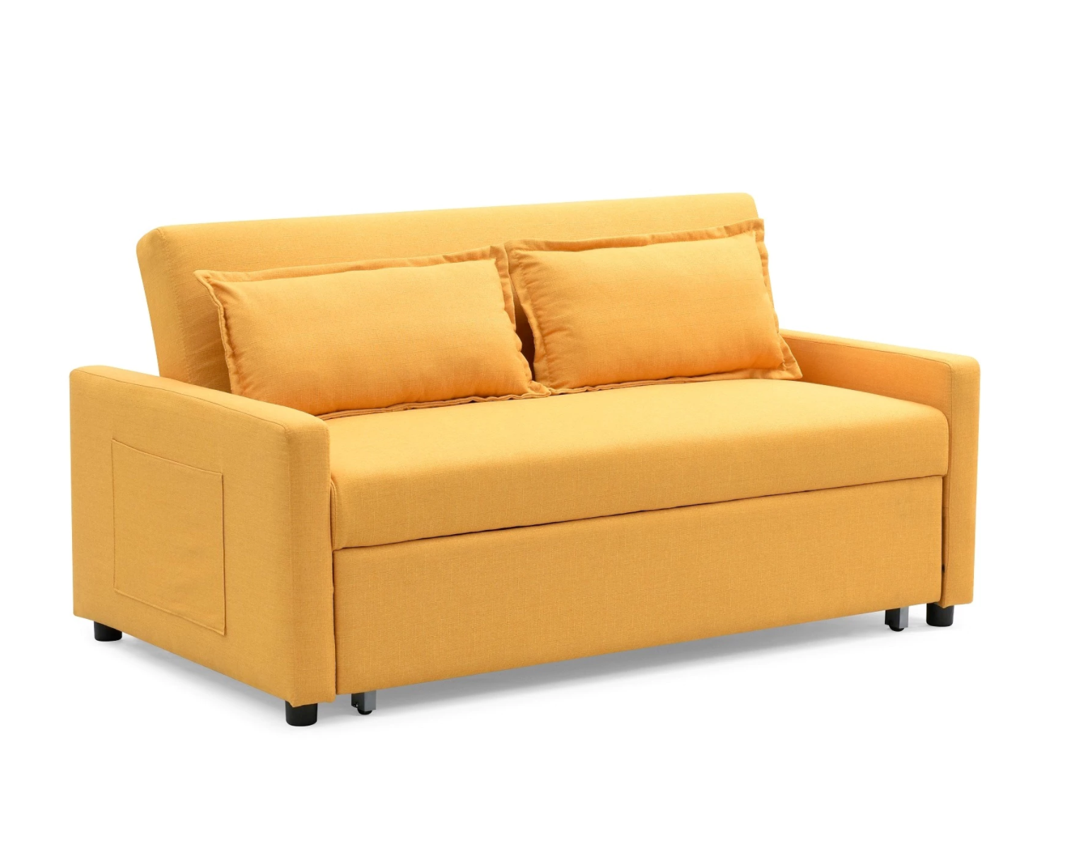 The Curated Nomad Stadtmuller Convertible Sofa With Pullout Bed