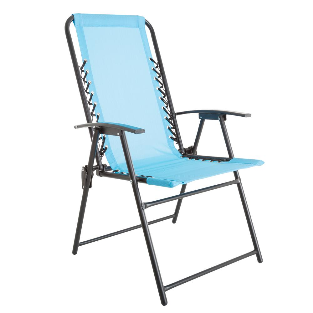 Patio Lawn Chair in Blue