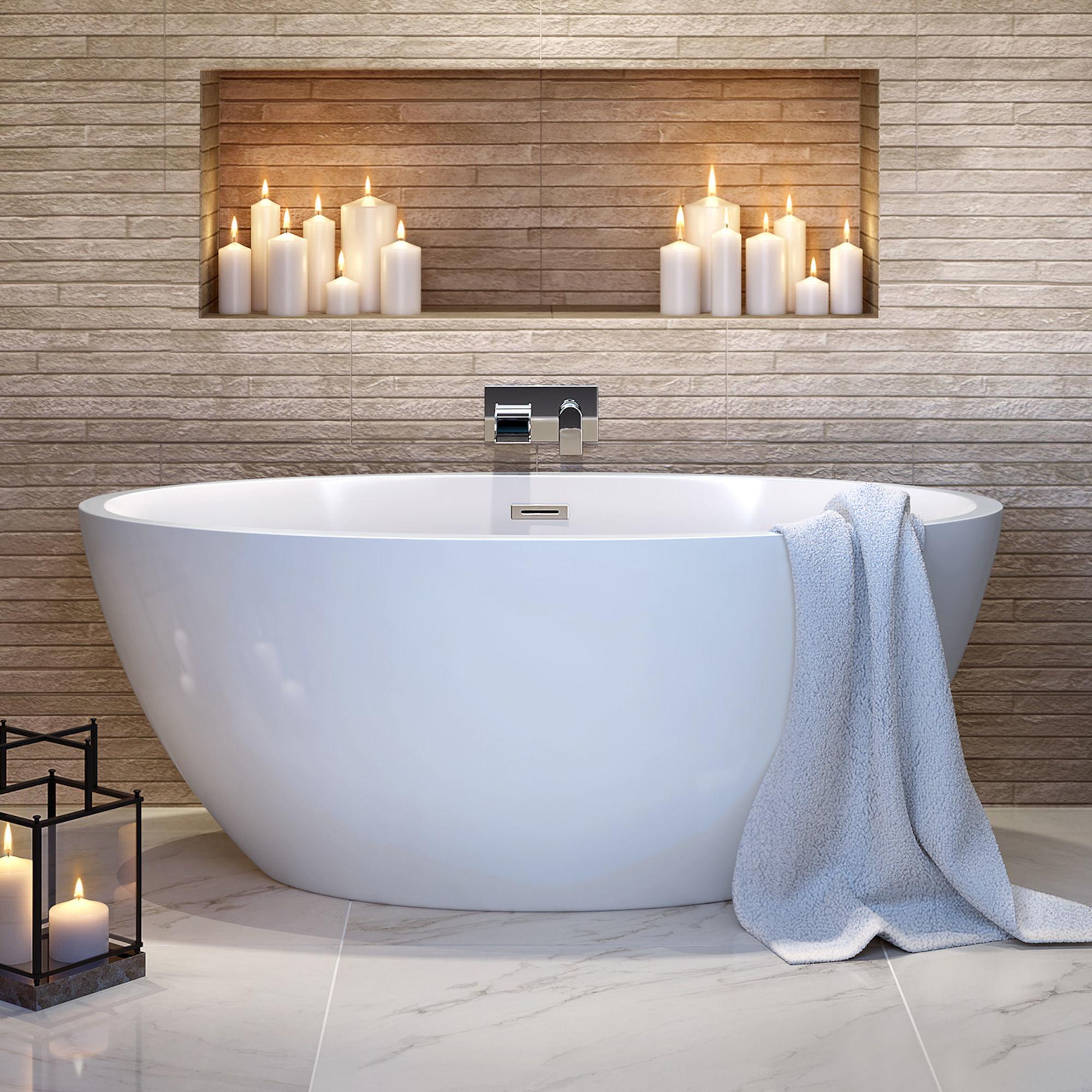 1500x720mm Belle Freestanding Bath