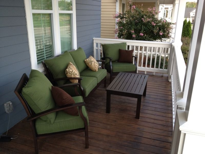 Comfortable Front Porch Furniture Sets