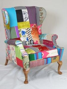 Great website for dinky chairs :) | Sitting Pretty | Pinterest | Funky  chairs, Patterned chair and Furniture upholstery