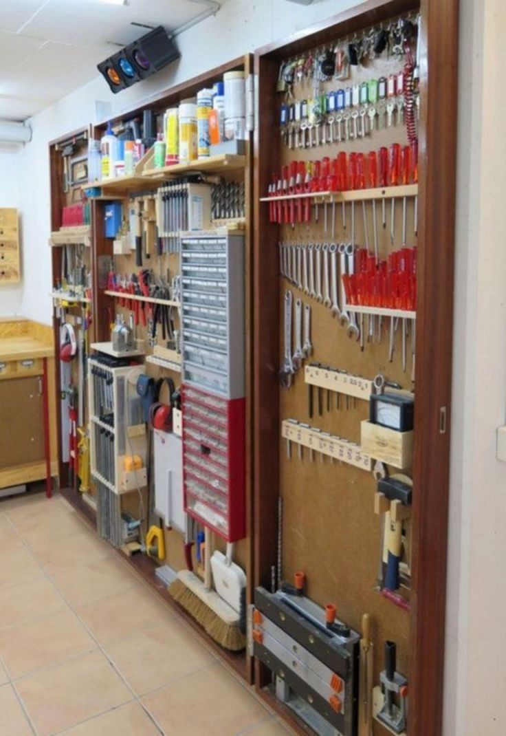 DIY Garage Storage- CLICK THE PICTURE for Many Garage Storage Ideas. #garage  #