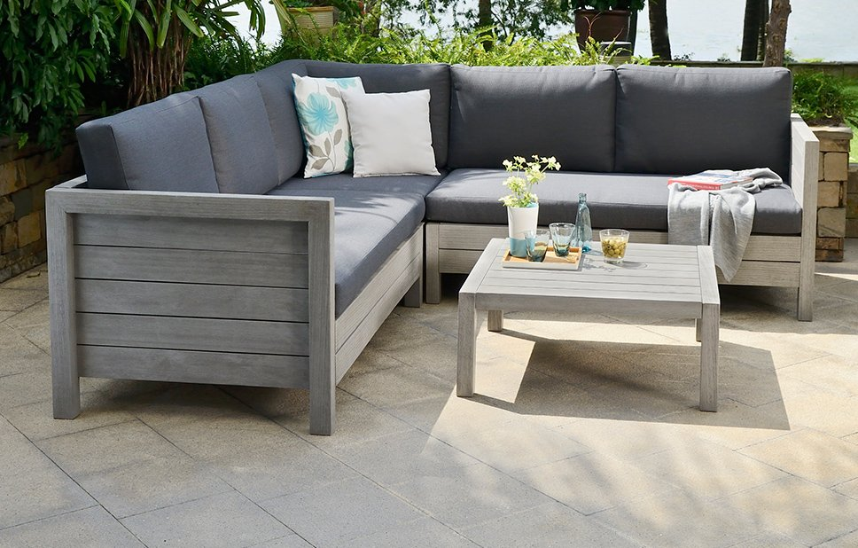 Lodge - Garden Sofa Set