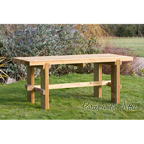 Wooden Garden Tables: Amazon.co.uk