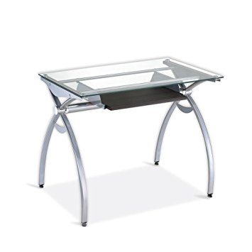 Admirable features of a small glass computer desk - Furnish Ideas