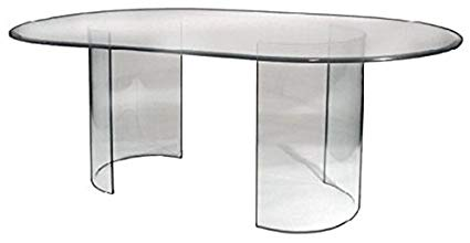 Amazon.com - See Glass Dining Table - Base Only - Tables