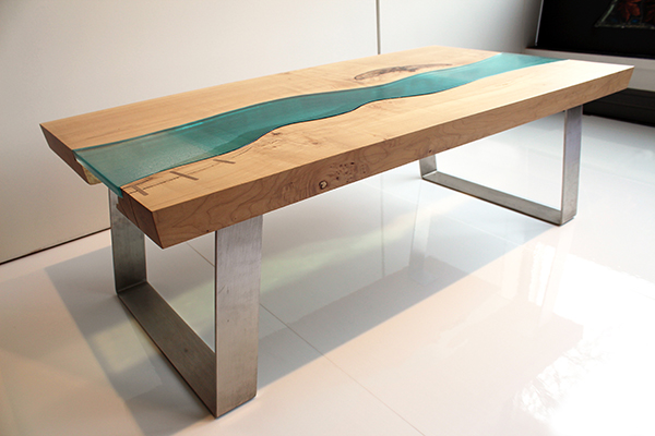 The Squamish Table - Prairie Studio Glass