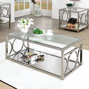 Glass-Top Coffee Tables You'll Love | Wayfair