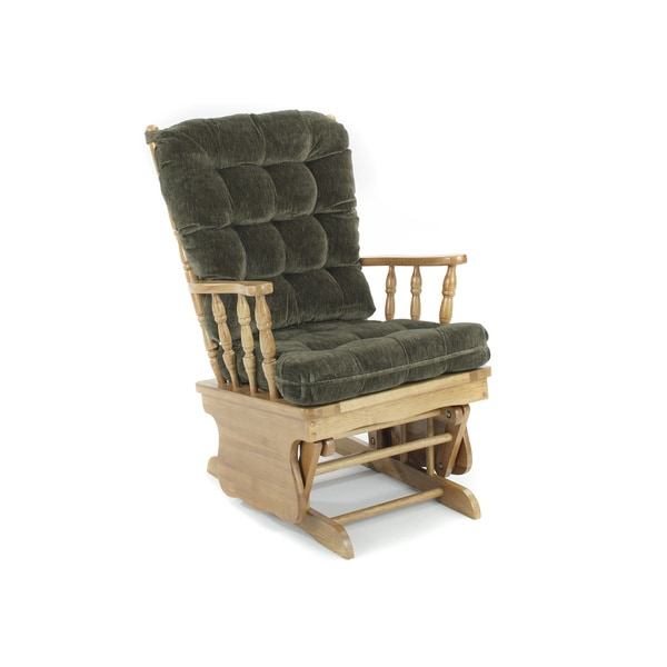 Shop Glider Rocking Chair, Hunter Green - Free Shipping Today