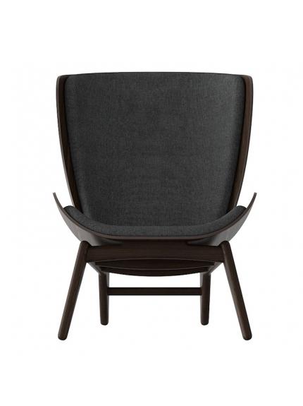 The Reader Armchair In Slate Grey/Dark Oak