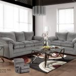 Gray Sofa And Loveseat
