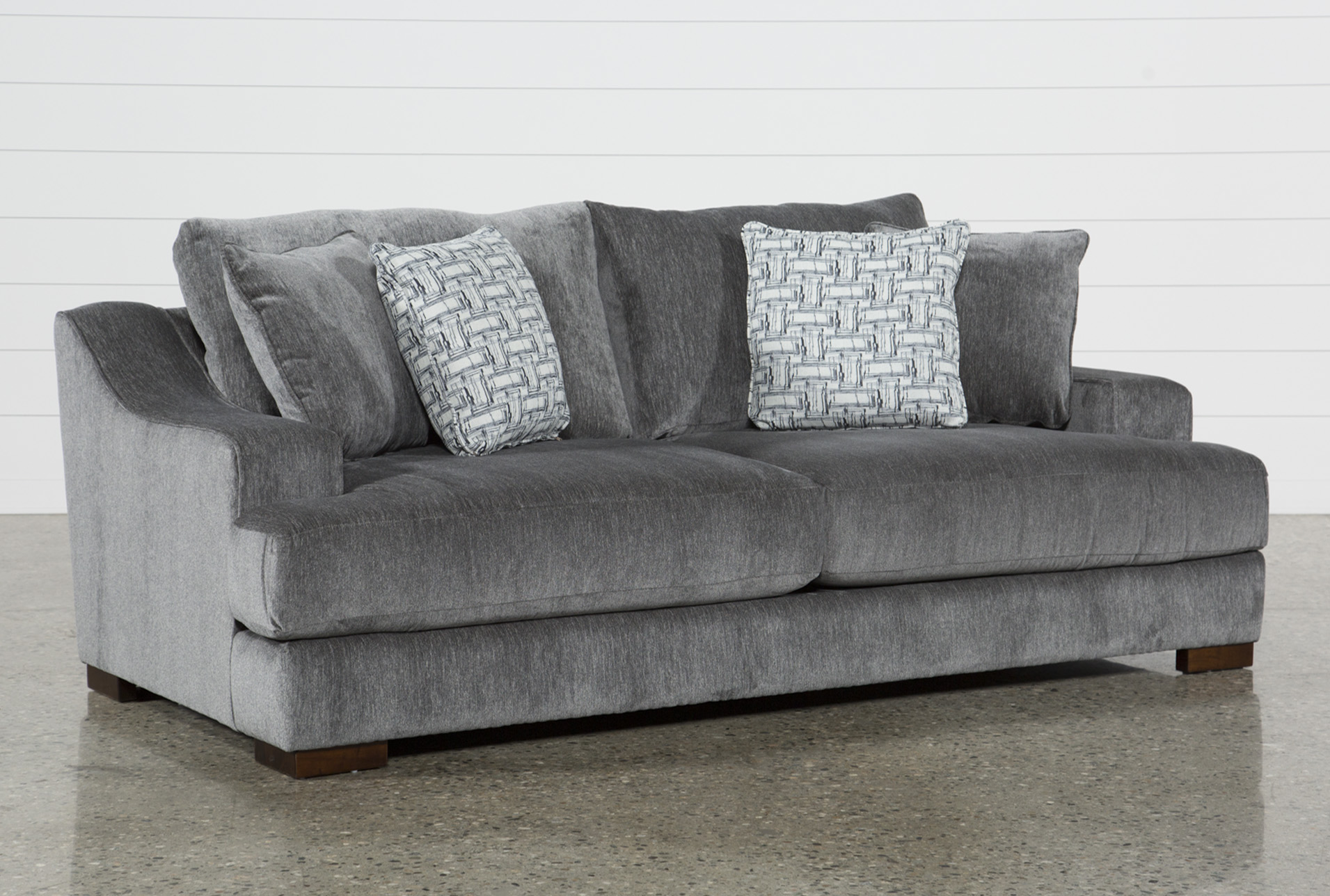 Grey Transitional Sofas & Couches - Free Assembly with Delivery