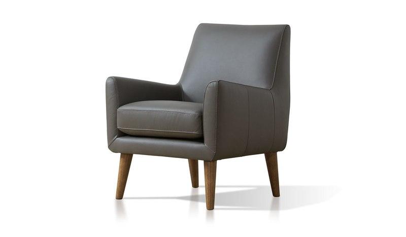 Forte leather armchair